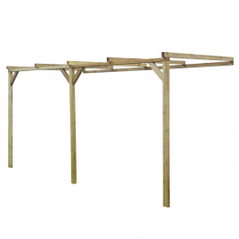 Pergola din lemn 2 x 4 x 2,2 m