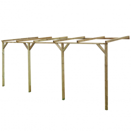 Pergola din lemn 2 x 5 x 2,2 m