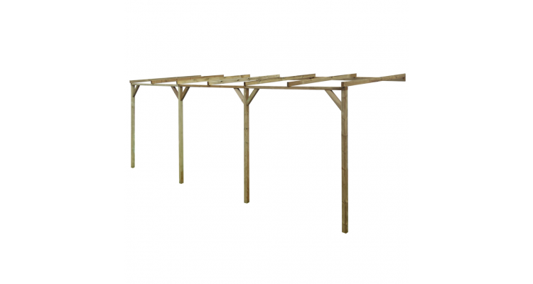Pergola din lemn 2 x 6 x 2,2 m