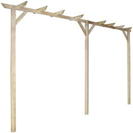 Pergola din lemn 400 x 40 x 205 cm