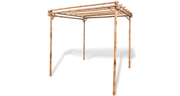 Pergola Lemn Bambus Poza