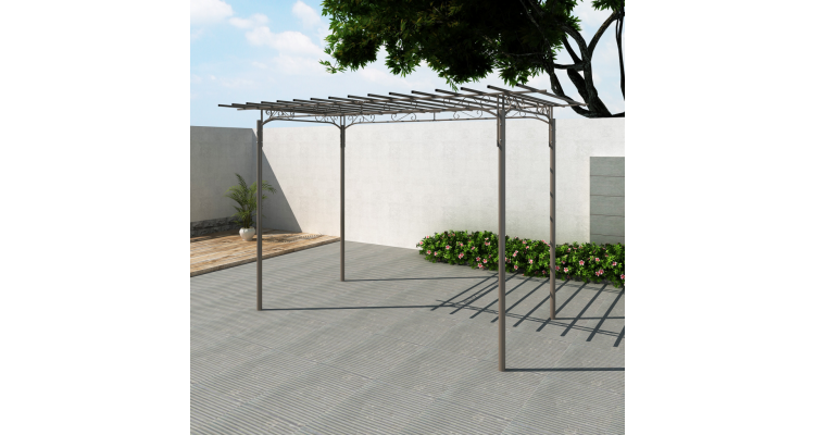 Pergola Otel Gradina Imagine