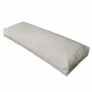 Perna alb nisipiu pentru sprijin spate 120 x 40 x 20 cm