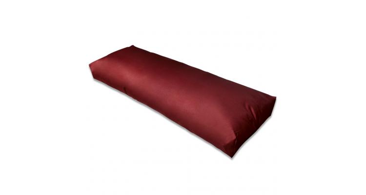 Perna rosu vin pentru sprijin spate 120 x 40 x 20 cm
