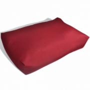 Perna spate tapitata, 60 x 40 x 20 cm, Rosu carmin