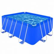 Piscina dreptunghiulara cu cadrul din otel 400 x 207 x 122 cm