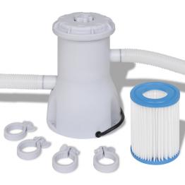 Pompa cu filtru pentru piscina 2000 L/h