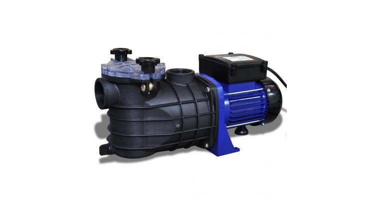 Pompa electrica pentru piscina 500 W, Albastra