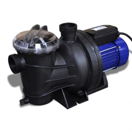 Pompa electrica pentru piscina 800 W, Albastra