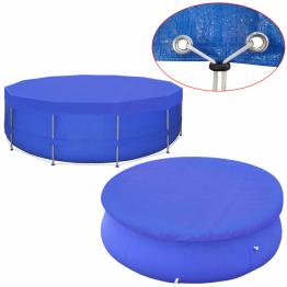 Prelata piscina PE rotunda 500 cm 90 g/m?
