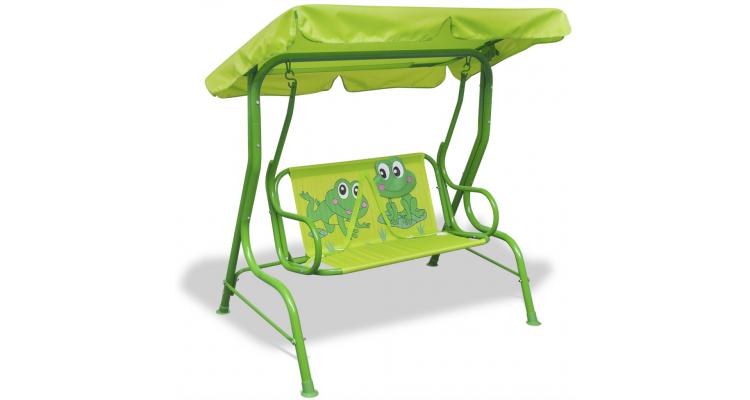 Leagan pentru copii, verde imagine 2021 kivi.ro