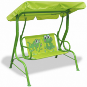 Leagan pentru copii, verde