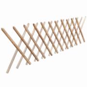 Gard extensibil tip Trellis din lemn impregnat, 250 x 80 cm