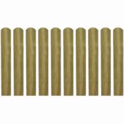 Scandura de gard din lemn tratat 60 cm, 10 buc.