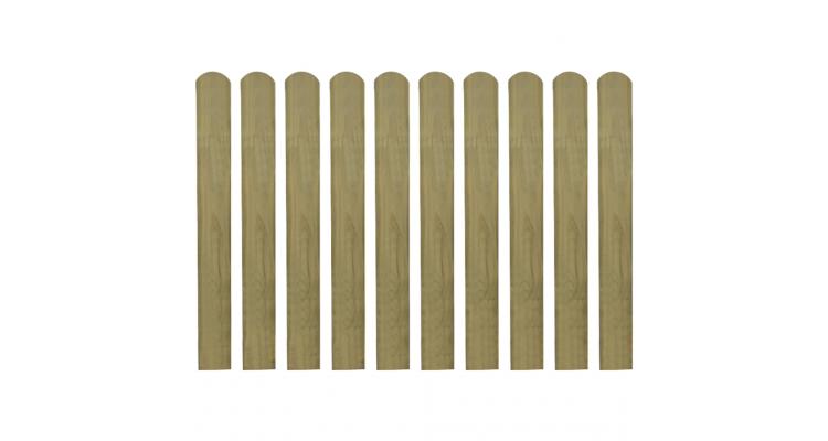 Scandura de gard din lemn tratat 80 cm, 10 buc. imagine 2021 kivi.ro