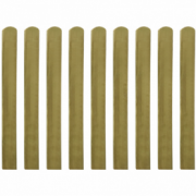 Scandura de gard din lemn tratat 100 cm, 10 buc.