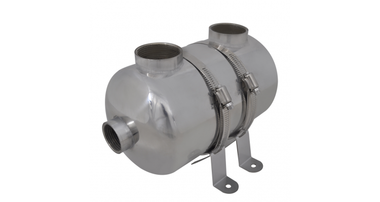Schimbator de caldura pentru piscina 292 x 134 mm 28 kW poza kivi.ro