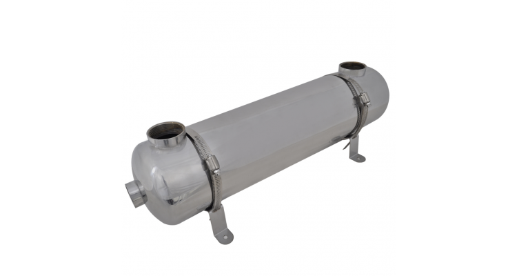 Schimbator de caldura pentru piscina 613 x 134 mm 75 kW poza kivi.ro