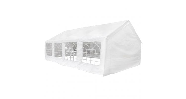 Acoperis de cort si panouri laterale pentru marchiza de 8x4 m