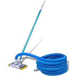 Set curatare piscina vacuum cu tub telescopic si furtun