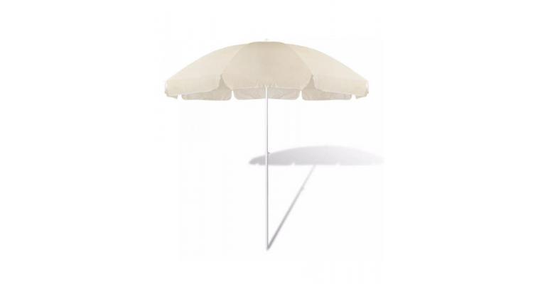 Umbrelă de soare, 240 cm, crem imagine 2021 kivi.ro