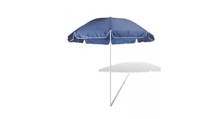 Umbrelă de soare, 240 cm, albastru imagine 2021 kivi.ro