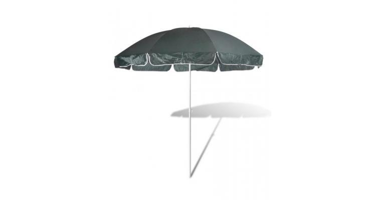 Umbrelă de soare, 240 cm, verde închis imagine 2021 kivi.ro