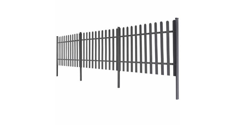 Gard Stalpi Gri Poza
