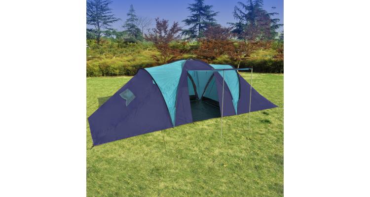 Cort Camping Poliester Albastru Albastru Inchis - 14047