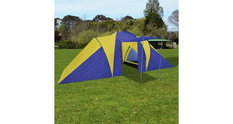 Cort Camping Bleumarin Galben - 16674