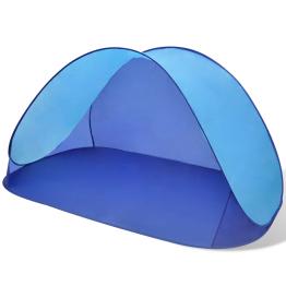 Cort pentru plaja cu protectie UV, Albastru
