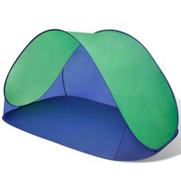 Cort pentru plaja cu protectie UV, Verde