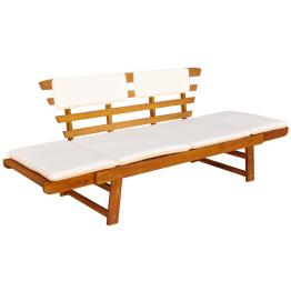 sezlong/Banca pentru gradina din lemn de salcam