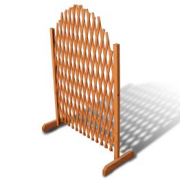 Spalier din lemn extensibil 180 x 100 cm