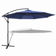 Umbrela de soare 3,5 m, Albastru