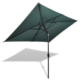 Umbrela de soare dreptunghiulara 200 x 300 cm, Verde