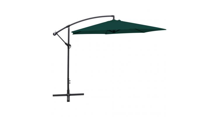 Umbrela de soare, 3 m, verde imagine 2021 kivi.ro