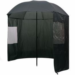 Umbrela pentru pescuit, 240 x 210 cm, verde
