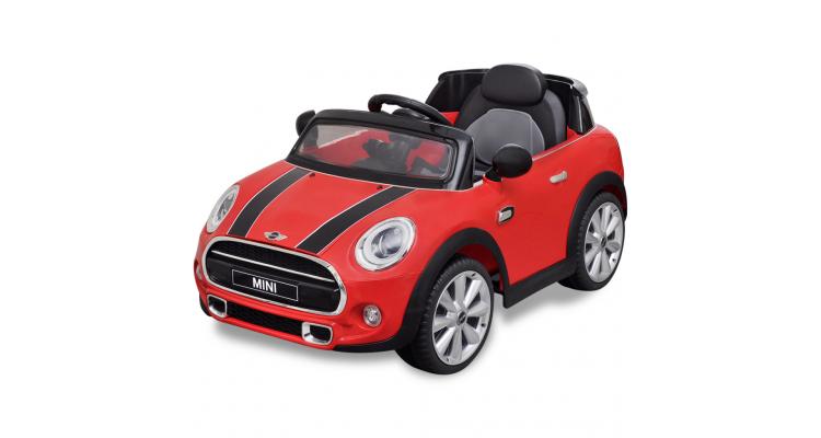 Masina de tip ride-on Mini Cooper S, Rosie