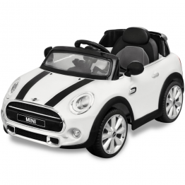 Masina de tip ride-on Mini Cooper S, Alba