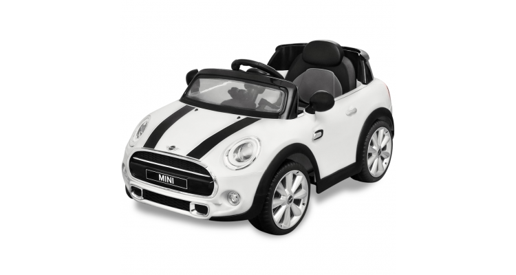 Masina de tip ride-on Mini Cooper S, Alba