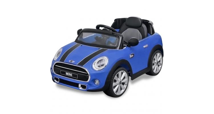Masina Ride On Mini Cooper Albastra Poza