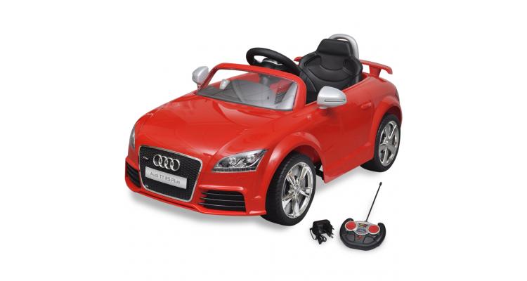 Masina Audi TT RS pentru copii cu telecomanda, rosu