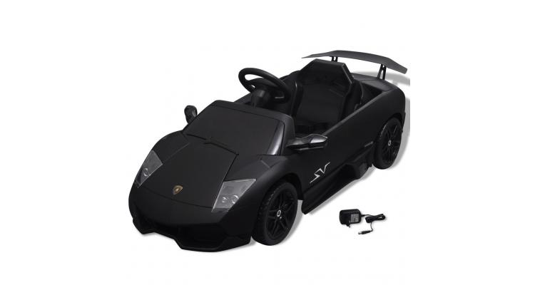 Masina jucarie Lamborghini Murcielago LGO LP 670-4SV 6 V, negru