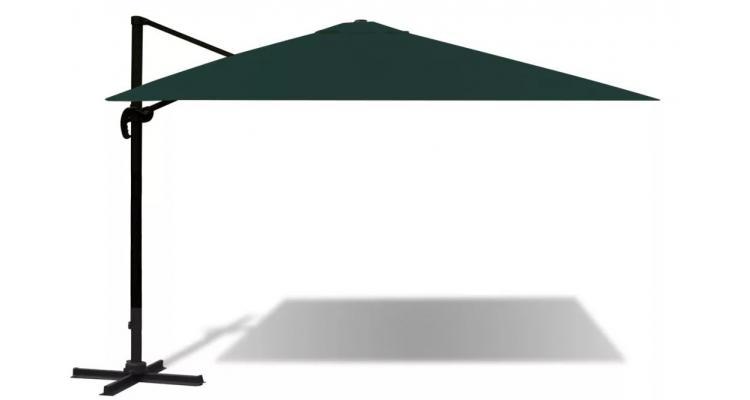 Umbrela Aluminiu Verde Poza