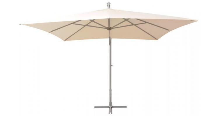 Umbrela Suspendata Stalp Aluminiu Nisipiu Imagine
