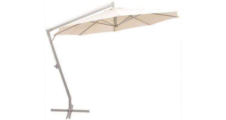 Umbrela Soare Suspendata Nisipiu Stalp Aluminiu Poza