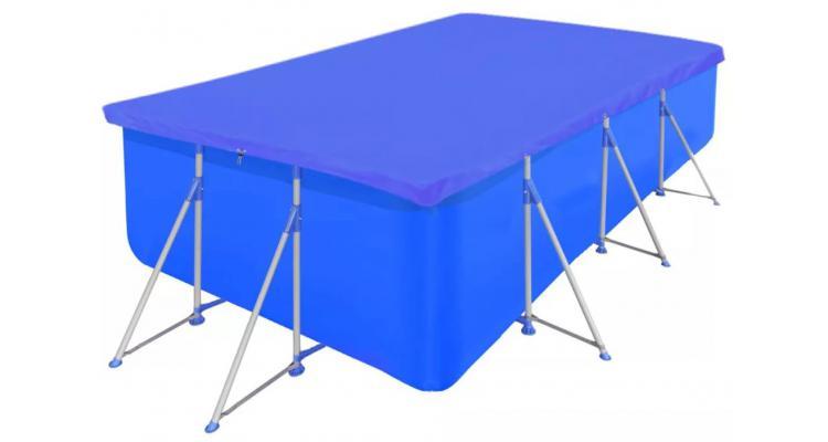 Folie pentru piscina dreptunghiulara din PE 90 g/mp 394 x 207 cm
