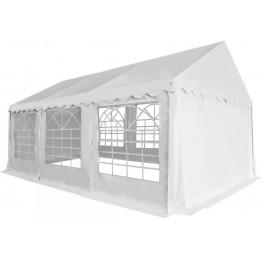 Pavilion gradina pvc 3 x 6 m alb