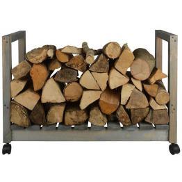 Cutie depozitare lemne pe roti